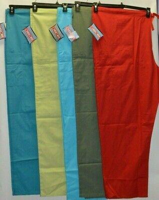 Cherokee Workwear Scrubs Pants Unisex Men Women Drawstring Cargo Pants 4100 # 4 4100 Unisex Drawstring Pant