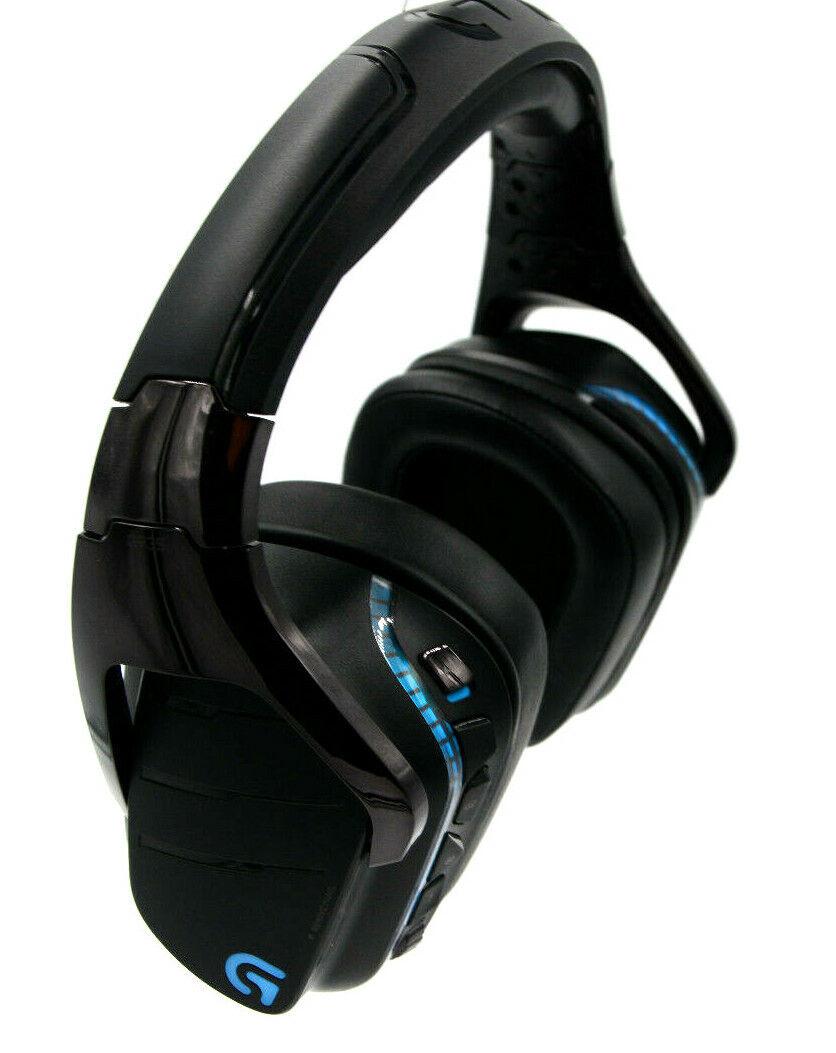Logitech G935 Gaming Kopfhörer, Wireless 7.1 LIGHTSYNC Gaming-Headset