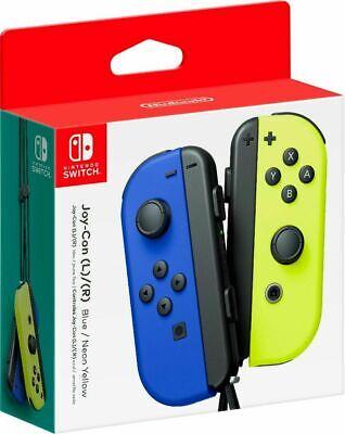 Nintendo Switch Joy-Con Controller - Blue / Neon Yellow (HACAJAPAA)™