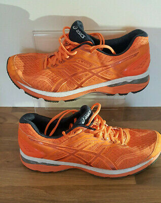 Asics GT-2000 Orange Mens Running Shoes UK 10 FREE POST