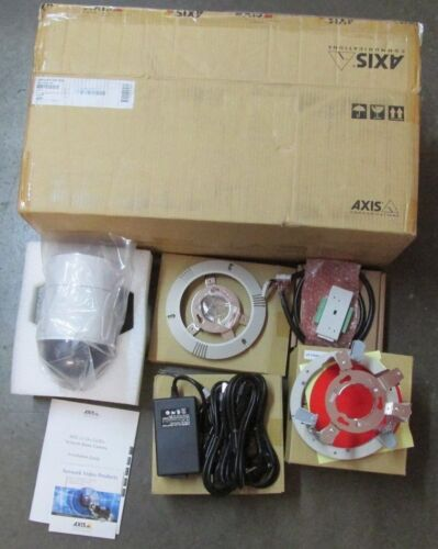 NEW NOS Axis 0251-001 231D+ NDC 60Hz Network Dome Camera 231D+NDC60HZ