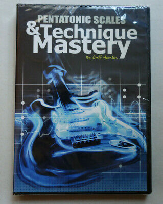 Guitar Pentatonic Scales - Technique & Mastery by Griff Hamlin 2 DVD / 1 CD New