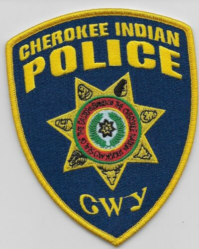 Eastern Band Cherokee Indians Tribal Police State North Carolina NC