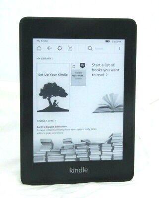 Amazon Kindle Paperwhite 4 (10th Gen) SCRATCHES, 8GB Wi-Fi  Black 10-5F