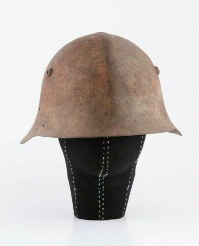 Bulgarian Army WW2 World War 2 M36 Safety Metal Helmet Casque