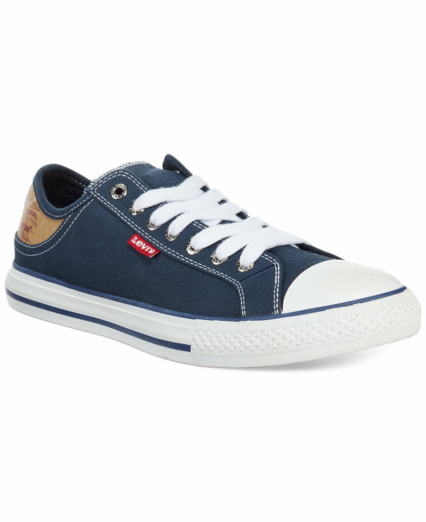 Levi's Navy Men's Stan Buck Sneakers Canvas   New