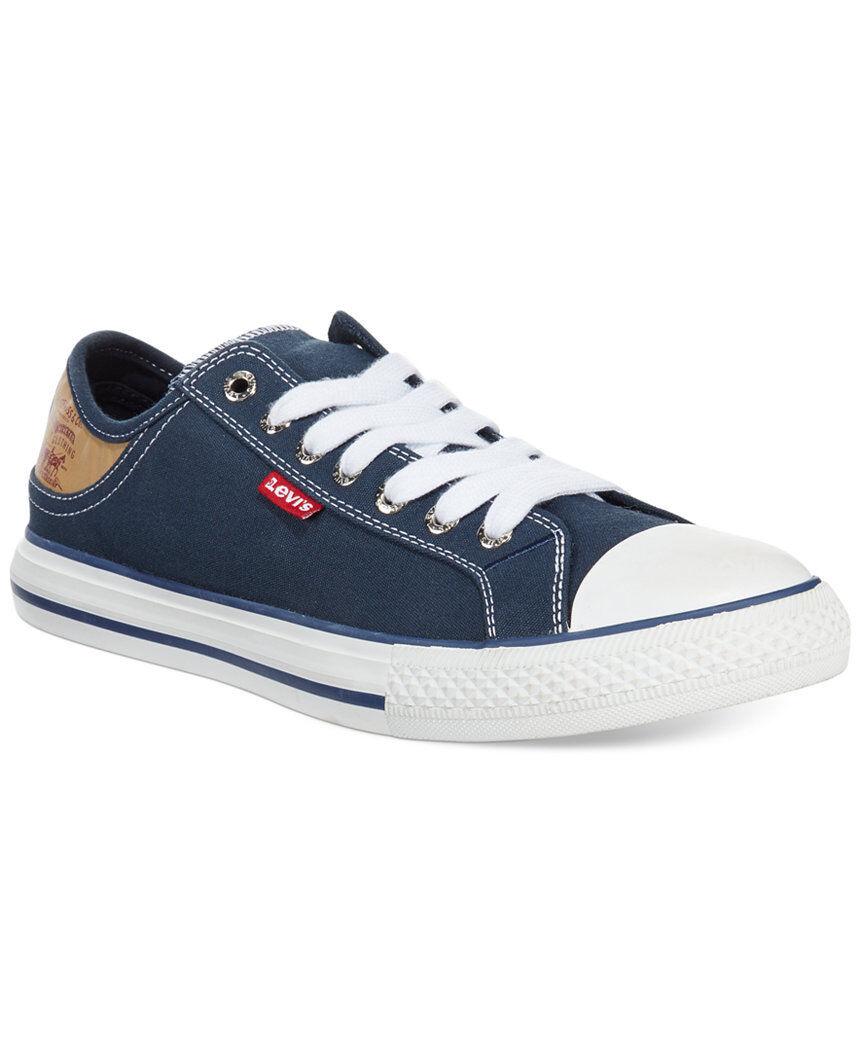 Levi's Navy Men's Stan Buck Sneakers Canvas   New