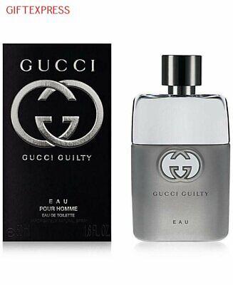 New Gucci Guilty Pour Homme (Men) Eau De Toilette Spray 1.6 oz