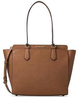 Michael Kors Dee Dee Large Convertible tote Color- Luggage $358