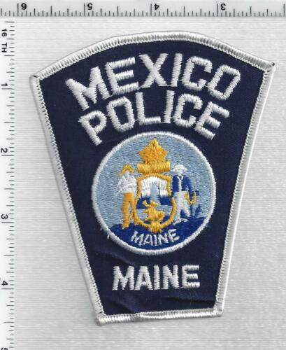 Mexico Police (Maine) 1st Issue Shoulder Patch