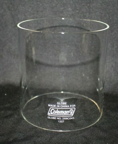 "Coleman Propane Lantern REPLACEMENT Globe No. 288C043 4 1/4"" W x 4 1/2"" Tall EUC"