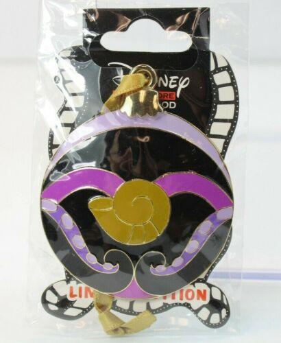 A4 Disney DSF DSSH LE 300 Pin Christmas Holiday Villains Ornament Sphere Ursula