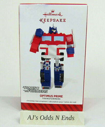 Hallmark Transformers Optimus Prime Keepsake Christmas Ornament 2014