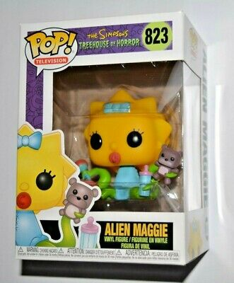 Funko Pop! Television The Simpsons Treehouse of Horror-Alien Maggie Nr. 823