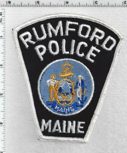Rumford Police (Maine) 2nd Issue Shoulder Patch
