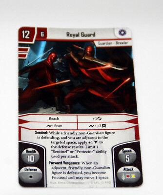 Star Wars Imperial Assault - Royal Guard Promokarte - Englisch - NEU