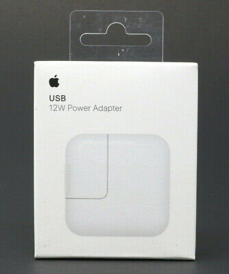 Genuine OEM Apple A1357 12W USB Wall Charger Power Adapter For iPhone iPad iPod