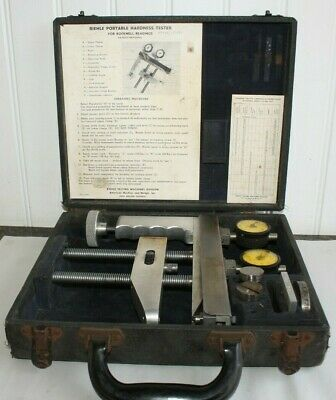Vintage Riehle Portable Rockwell Hardness Tester