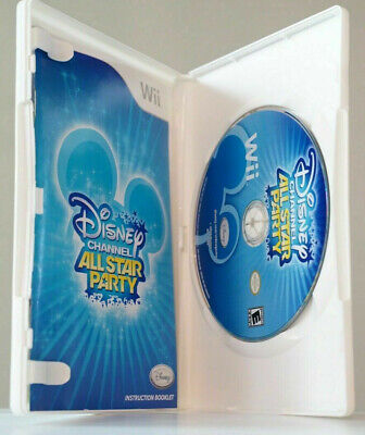 Disney Channel All Star Party (Nintendo Wii, 2010) GAME COMPLETE with MANUAL - Groove Party Game