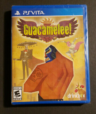Guacamelee Playstation Vita Limited Run Games 225 Brand New BNIB - NA Seller