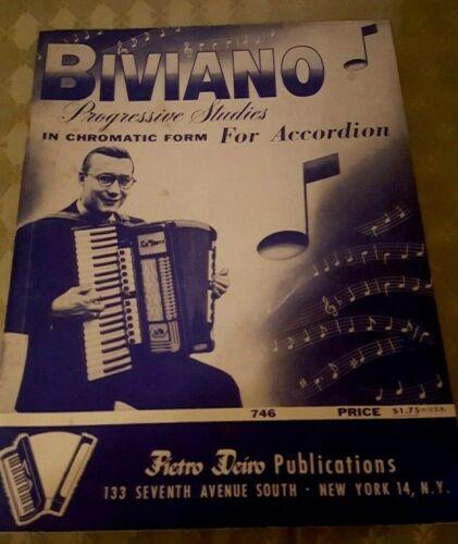 Biviano progressive studies for accordian