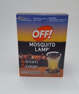 OFF! Mosquito Lamp Refillable Lasting up to 6 Hr.