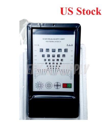 Near LED Optical Visual Chart Lamphouse Optometry Tester Mini Vision Chart