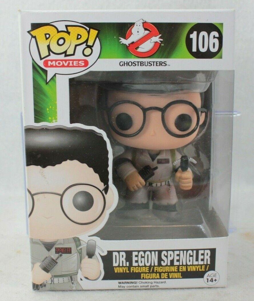 Funko Pop Movies DR EGON SPENGLER Vinyl Figure Vaulted 106 G