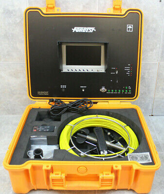 Forbest Color Sewerdrain Camera 130 Of Cable W 7 Display Waterproof Case