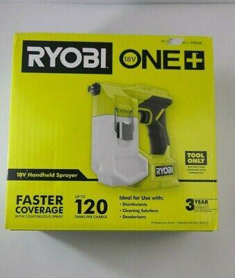 Ryobi Psp01b One 18v Compact Handheld Sprayer