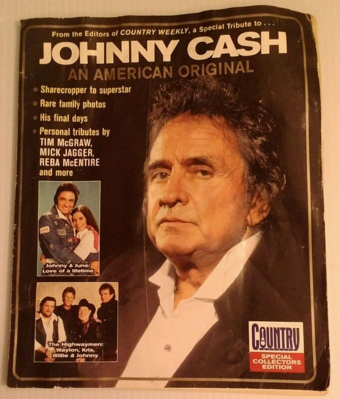 Johnny Cash An American Original- Country Weekly Special Collectors Edition Mag