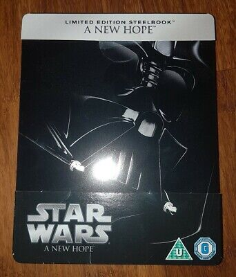 Brand New - Star Wars A New Hope Steelbook LIMITED EDITION