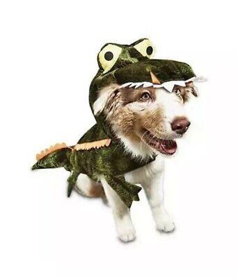 Bootique M Dog Costume Alligator Later Gator Medium Halloween 15-17