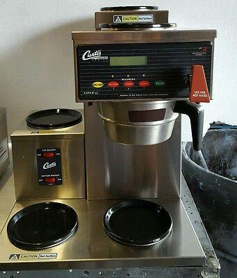 Curtis Alpha 5 Dsr 2u3l Automatic 5 Burner Coffee Brewer W Faucet 120v Ss