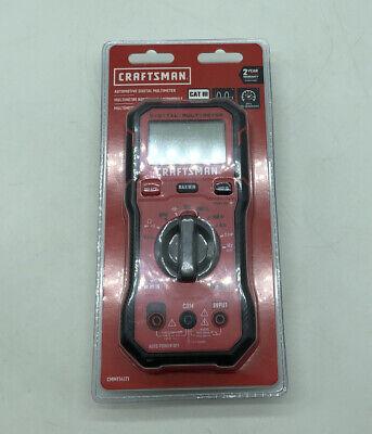 Craftsman Cmmt14171 Automotive Digital 600 Voltmeter