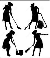 Reliable Cleaning Lady / Organizing / Decluttering Services