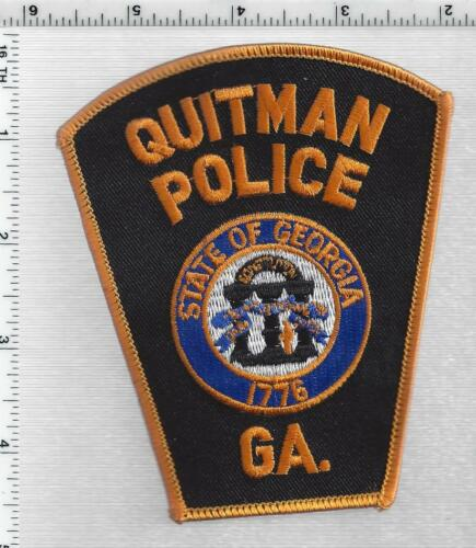 Quitman Police (Georgia) 2nd Issue Shoulder Patch