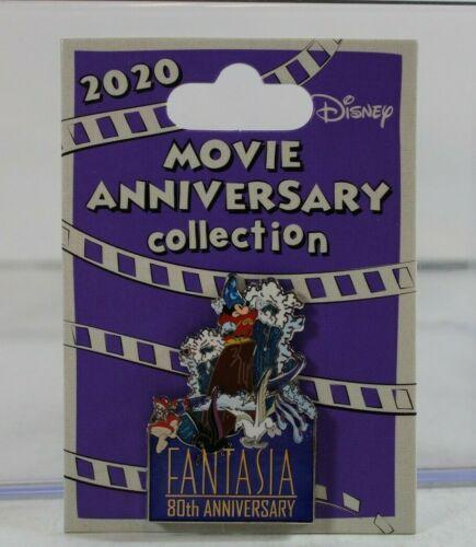 B2 Disney Pin Cast Exclusive Movie 80th Anniversary LE Fantasia Sorcerer Mickey