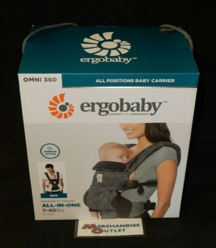 Ergobaby - Grey Omni 360 Newborn to Toddler All-In-One Carrier