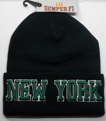 (New York Jets Team Color 3D Direct Embroidered Beanie Knit Cap hat!)