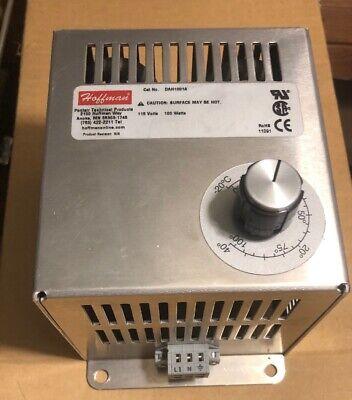 New Hoffman 100 Watt Electric Heater 115 Vac Range 0-100 F Dah1001a