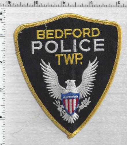 Bedford Township Police (Michigan) 1st Issue Uniform Take-Off Shoulder Patch