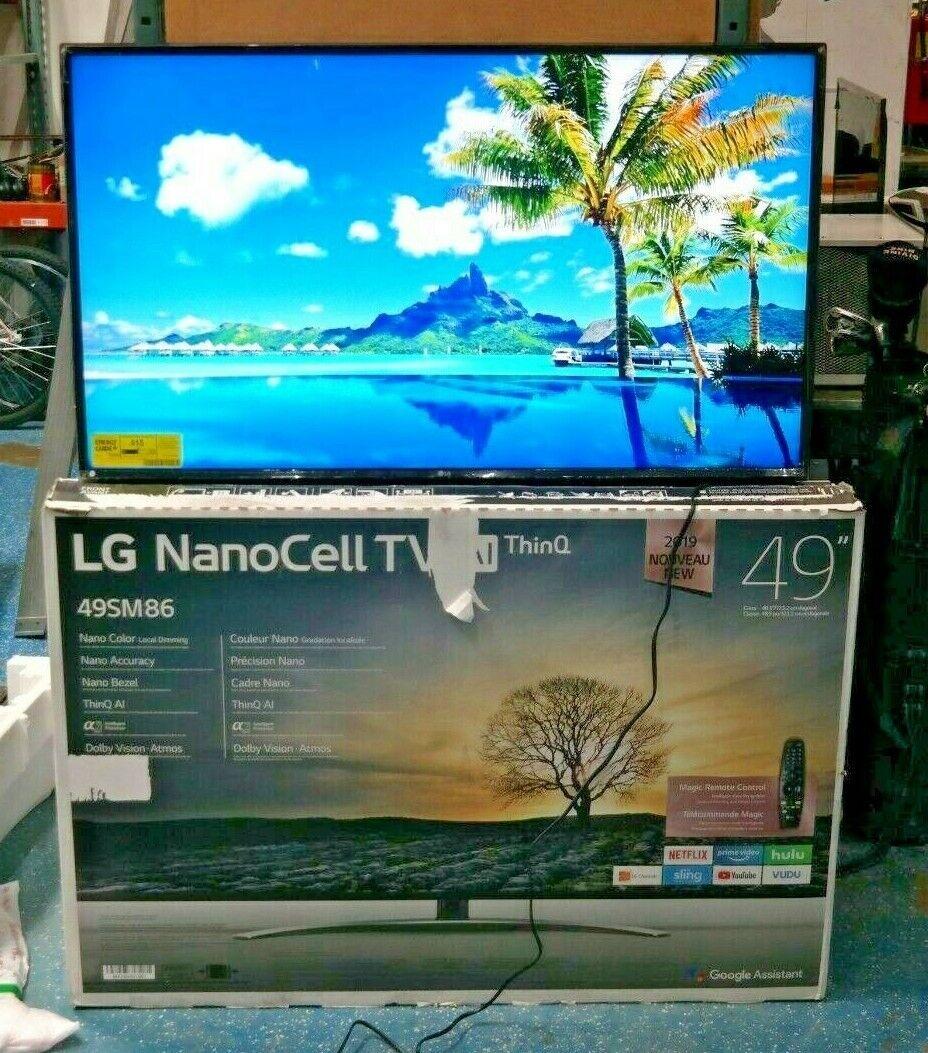 LG 49SM8600 Nano 8 Series 4K 49