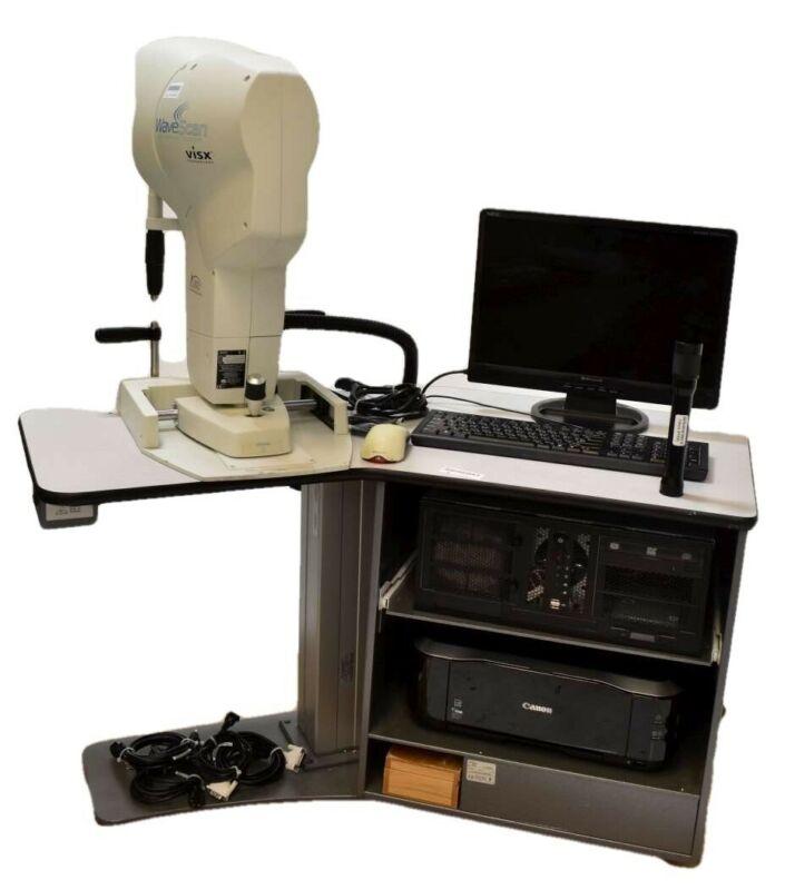 Visx Technology Wavescan Medical Laser Refractor Scanner Optometry Unit Machine