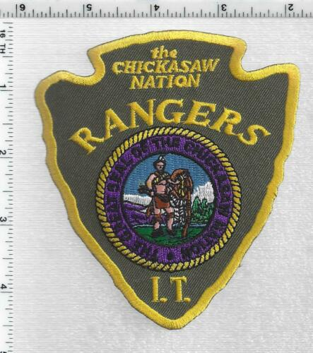 The Chickasaw Nation Rangers (Oklahoma) 1st Issue Patch