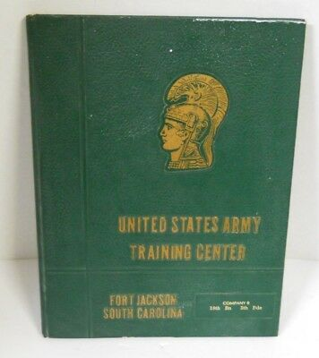 1975 US Army Training Center Fort Jackson SC Company B 18th Bn 5th BdeYearbook