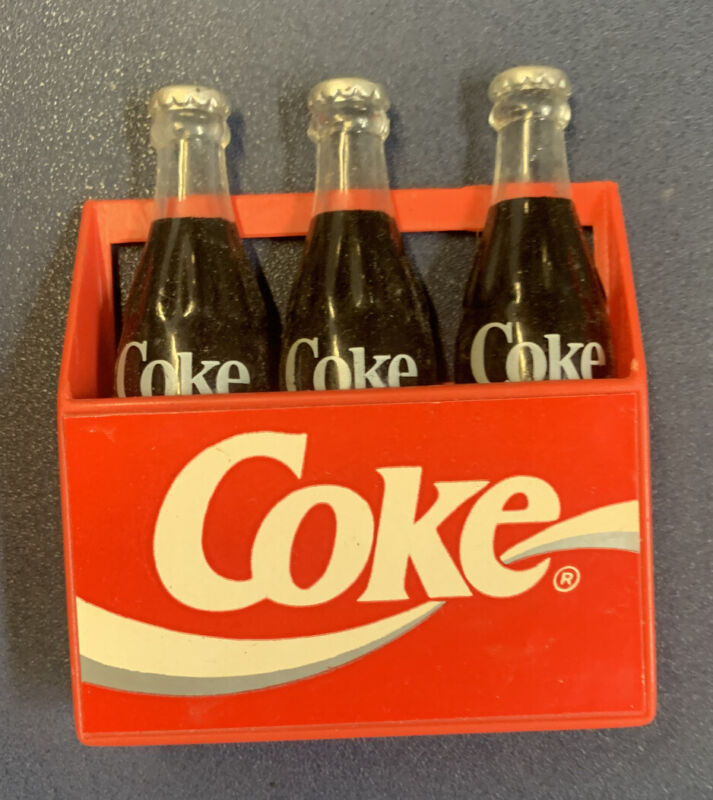 """Vintage Coca-Cola Bottles Magnets 3"""""""