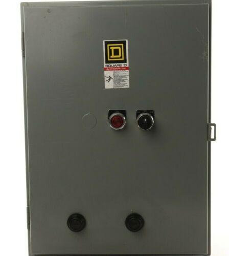 Square D 8810SBG1V83C7FF4P1T 2 Speed AC Starter  NIB Size 0