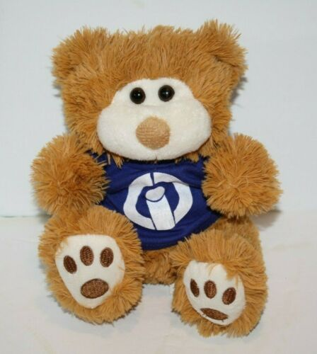 "T A G Half Pints TEDDY BEAR 7"" Sits Small Golden Brown Plush Soft Toy Stuffed"