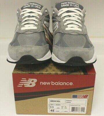NEW BALANCE Classic 993 Heritage Collection MR993GL Made In USA Sneakers 11 4E